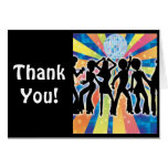 Disco Dance Thank You Note Card