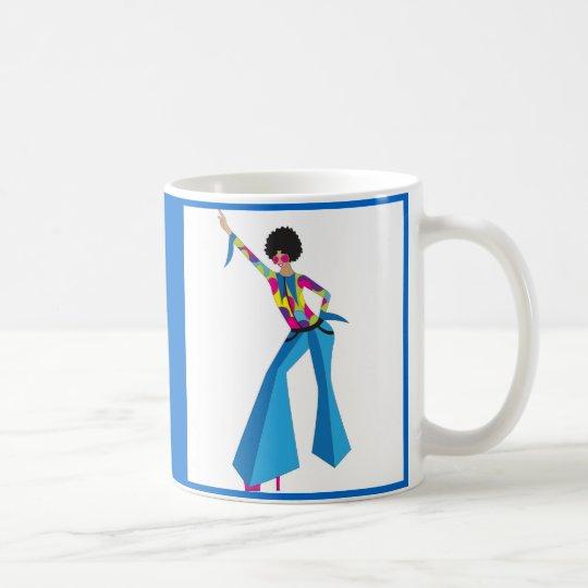 Disco dancer coffee mug