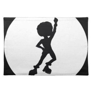 Disco dancer place mats