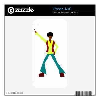 Disco Dancer Skins For The iPhone 4S