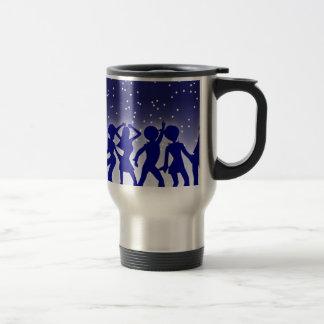 Disco Dancers Travel Mug