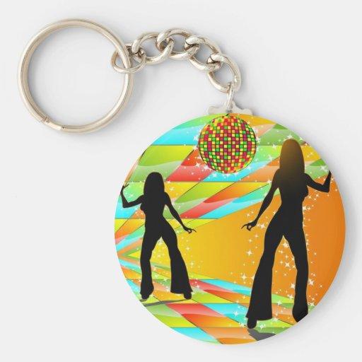 Disco Dancing Keychains