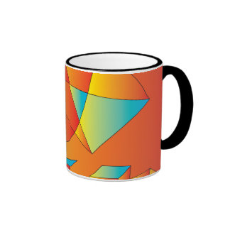Disco Dancing Sunrise Ringer Mug