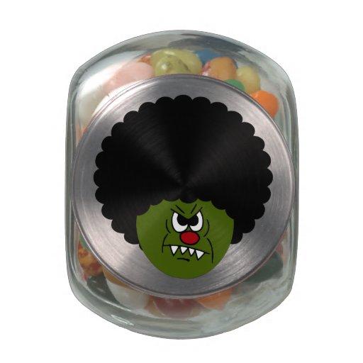 Disco de Halloween de la boogie de los zombis Frascos De Cristal