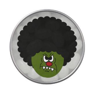 Disco de Halloween de la boogie de los zombis Latas De Caramelos
