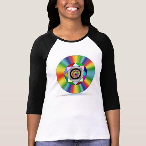 Disco de la deidad de SUNGODD Camiseta