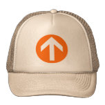 Disco de la flecha gorras