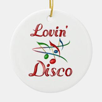 Disco de Lovin Ornamento Para Arbol De Navidad
