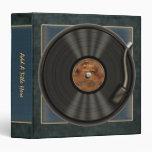 """Disco de vinilo 1,5"""" de LP del Karaoke carpeta de"""