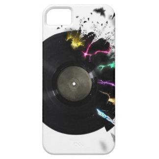 Disco de vinilo abstracto iPhone 5 cobertura