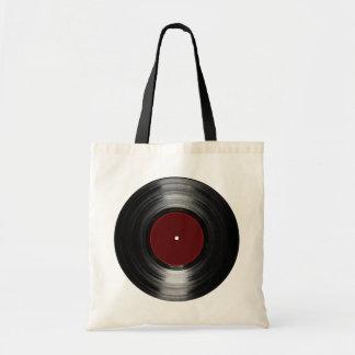 disco de vinilo bolsa tela barata
