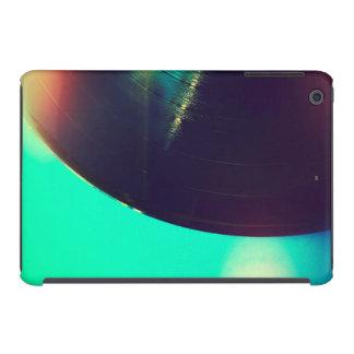 Disco de vinilo con el espacio de la copia funda para iPad mini retina