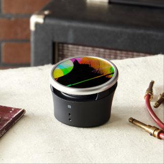 Disco de vinilo en muchos colores altavoz con bluetooth