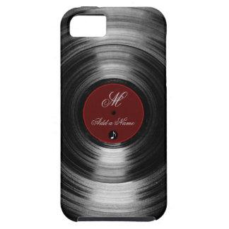 disco de vinilo funda para iPhone 5 tough