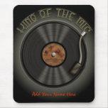 Disco de vinilo Mousepad de LP del Karaoke Alfombrillas De Ratones