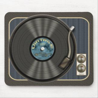 Disco de vinilo Mousepad del vintage Tapetes De Ratones