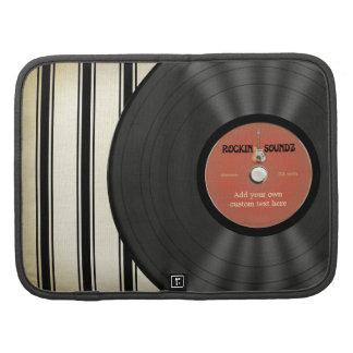 Disco de vinilo personalizado de la roca del vinta organizador