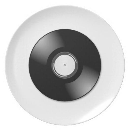 Disco de vinilo plato
