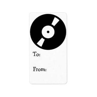 disco de vinilo retro