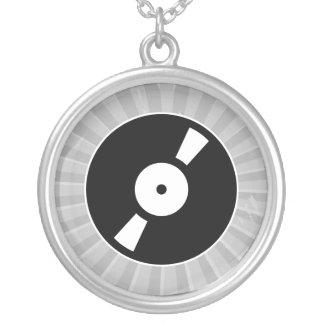 disco de vinilo retro joyería