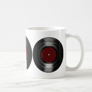 disco de vinilo taza