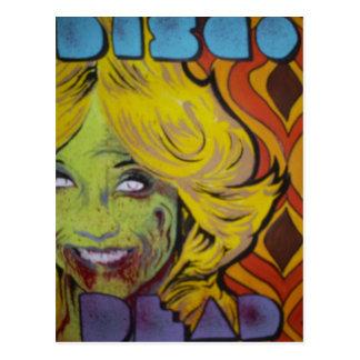 Disco Dead Postcard