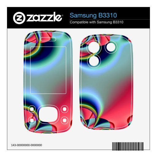 Disco Decals For Samsung B3310