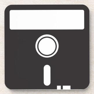 Disco del disco blando para el ordenador viejo del posavaso