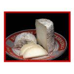 Disco del queso de Tronchetto - postal