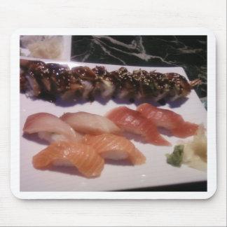 Disco del sushi tapete de raton