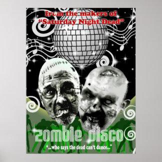disco del zombi impresiones