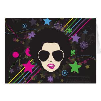 Disco ~ Disco Queen Funky 1980s 80s Music Card