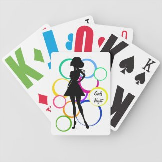 Disco Diva Deck Of Cards