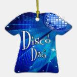 Disco Diva Keepsake Ornament