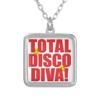 Disco Diva Life Personalized Necklace