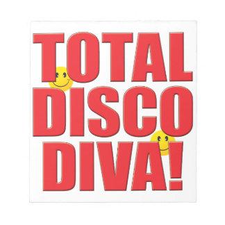 Disco Diva Life Note Pad
