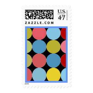 Disco dots Postage