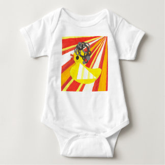 Disco Ducky Babygro Baby Bodysuit