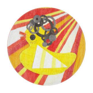 Disco Ducky Chopping Board