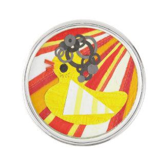 Disco Ducky Lapel Pin