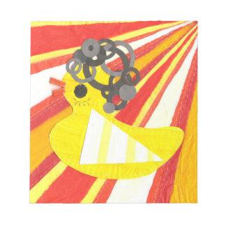 Disco Ducky Notepad