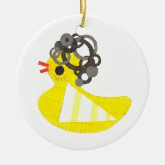 Disco Ducky Ornament