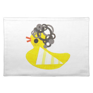 Disco Ducky Placemat