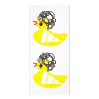 Disco Ducky Rackcards Custom Rack Cards