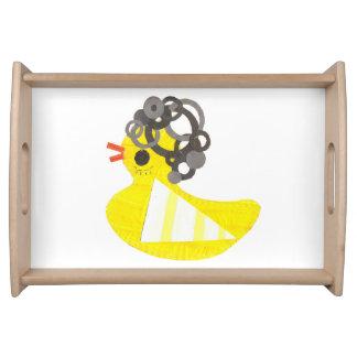 Disco Ducky Serving Tray
