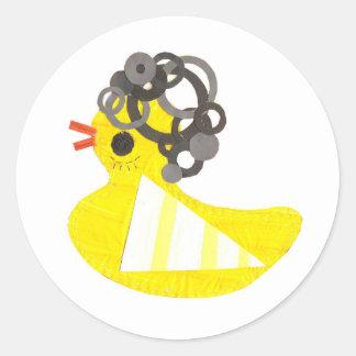 Disco Ducky Stickers