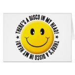 Disco en mi smiley principal felicitacion