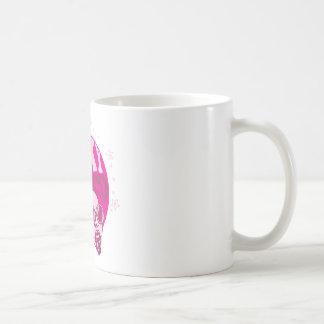 Disco enrrollado taza básica blanca