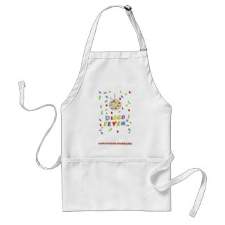 Disco Fever Adult Apron