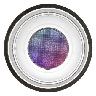 Disco fever pixel mosaic bowl